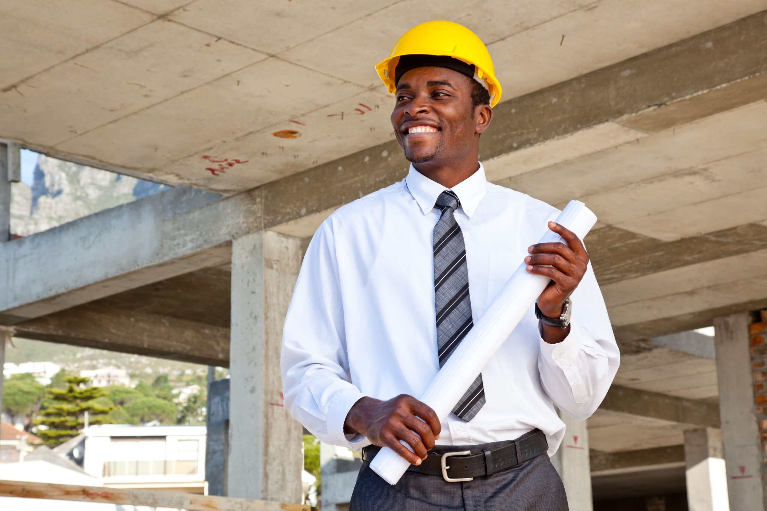 construction and building company worker